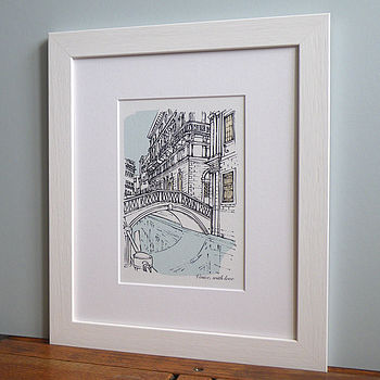 Personalised Favourite Place Illustration