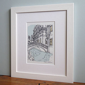 Personalised Favourite Place Illustration - gifts for her