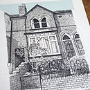 Detailed House Or Venue Illustration