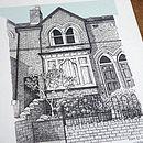 Detailed House Or Venue Illustration