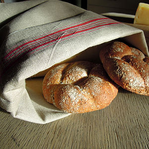 French Style Linen Bread Bag - kitchen
