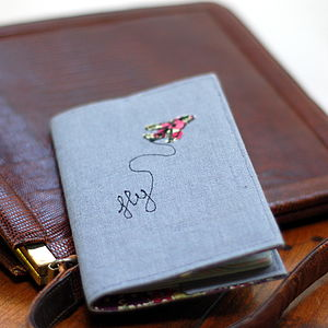 Handmade Passport Holder - womens