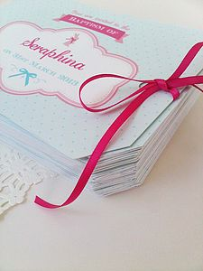 Alice Invitation Set - christening invitations