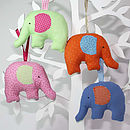 Fabric Elephant Decoration
