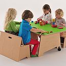 The Big Play Table For Small Spaces