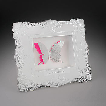 Three Dimensional Framed Mothers Day Card
