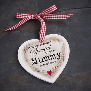 Personalised Someone Special Wooden Heart - cards & wrap