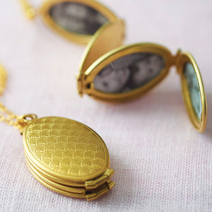 Family Tree Locket - necklaces & pendants