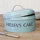 Personalised Cake Tins