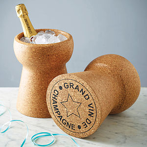 Champagne Cork Cooler - wedding gifts