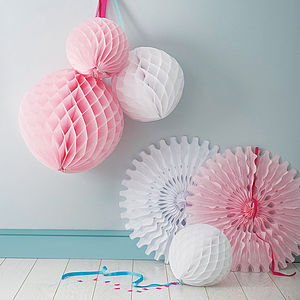 Pack Of Paper Wedding Decorations - last-minute wedding styling touches