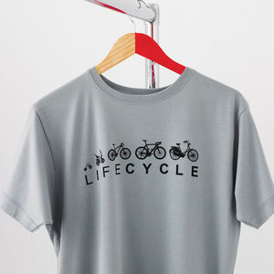 'Lifecycle' T Shirt - 30th birthday gifts
