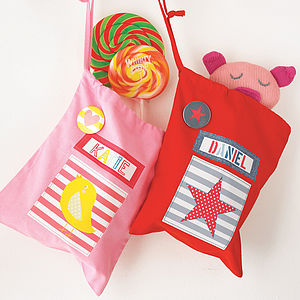 Child's Personalised Party Bags - bags, purses & wallets