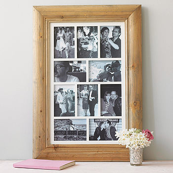 Ten Aperture Photo Frame