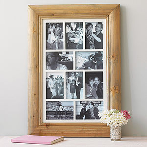 Ten Aperture Photo Frame - wedding gifts