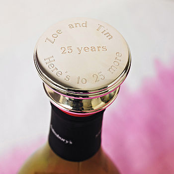 Personalised Wine Bottle Stopper