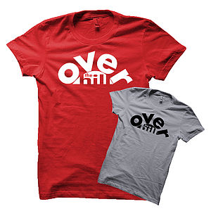 Men's 'Over The Hill' T Shirt - men's fashion