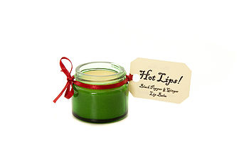 'Hot Lips' Black Pepper And Ginger Lip Balm