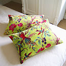 Floral Forest Cushion