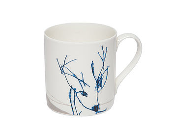 Deer Fine Bone China Mug