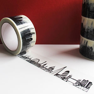 London Skyline Decorative Tape