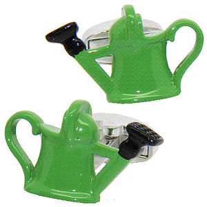 Gardener's Watering Can Cufflinks