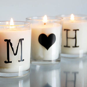Couples Scented Candles - love tokens
