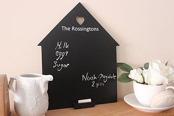 Personalised Family Home Chalkboard