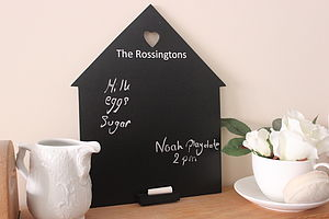 Personalised Family Home Chalkboard - shop by price