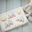 New Baby Or Christening Biscuit Gift Box