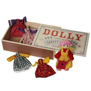 Matchbox Dress Up Doll - traditional toys & games