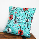 Burst Of The Fifties Cushion