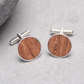 Woodgrain Cufflinks