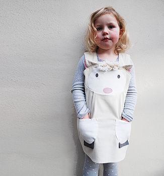 Spring Lamb Girls Play Dress