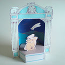 Paper Theatre With Star Gazing Hares