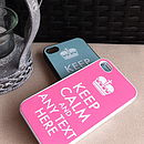 Keep Calm Case For IPhone/IPod