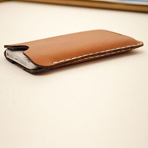 Leather Sleeve For IPhone