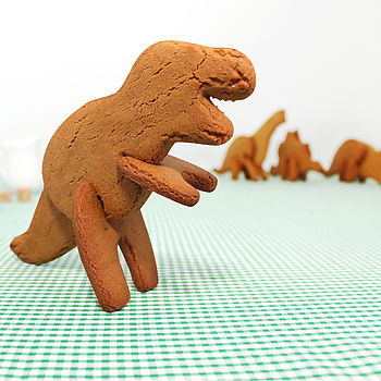 Three Dimensional Dinosaur Cookie Cutter