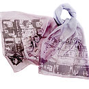 The Streets Of Paris Silk Scarf