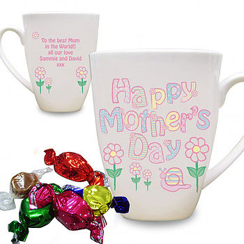 Personalised Mother's Day Daisy Mug