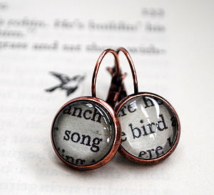 Song Bird Secret Garden Earrings - earrings