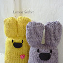 Personalised Bunny Knitting Craft Kit