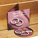 Personalised Wedding CD