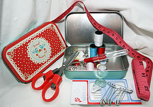 Stocking Filler Travel Sewing Kit - sewing boxes