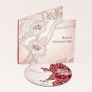 Personalised Modern Female CD - leisure