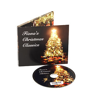 Personalised Christmas Tree CD