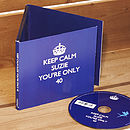 Personalised Keep Calm CD