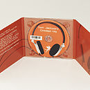 Personalised Headphones CD