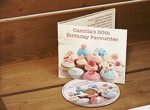 Personalised Birthday Cupcakes CD - 30th birthday gifts