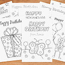 Personalised Colour In Cards